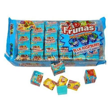 Alberts Frunas Fruit Chews Blue Raspberry ( US )